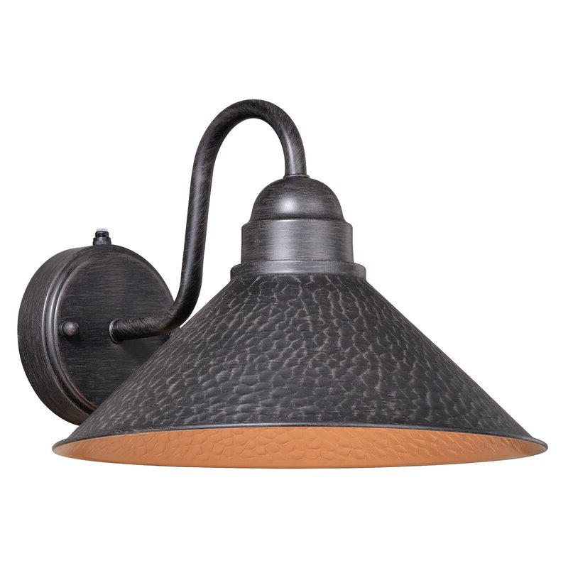 Most Recent Leslie Black Outdoor Barn Lights With Regard To Laurel Foundry Modern Farmhouse Braydon Black 1 – Bulb (View 5 of 20)