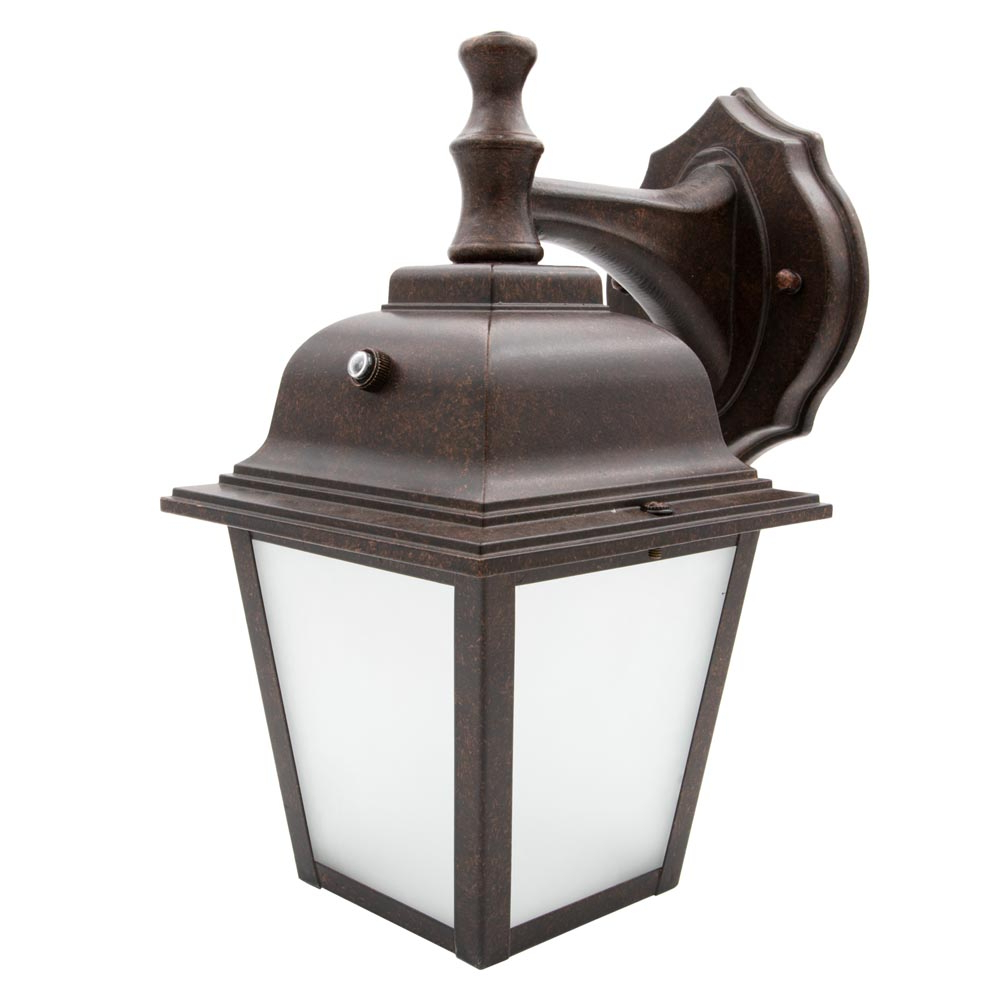 Most Recent Maxxima Led Porch Lantern Outdoor Wall Light, Aged Bronze For Cowhill Dark Bronze Wall Lanterns (View 14 of 20)