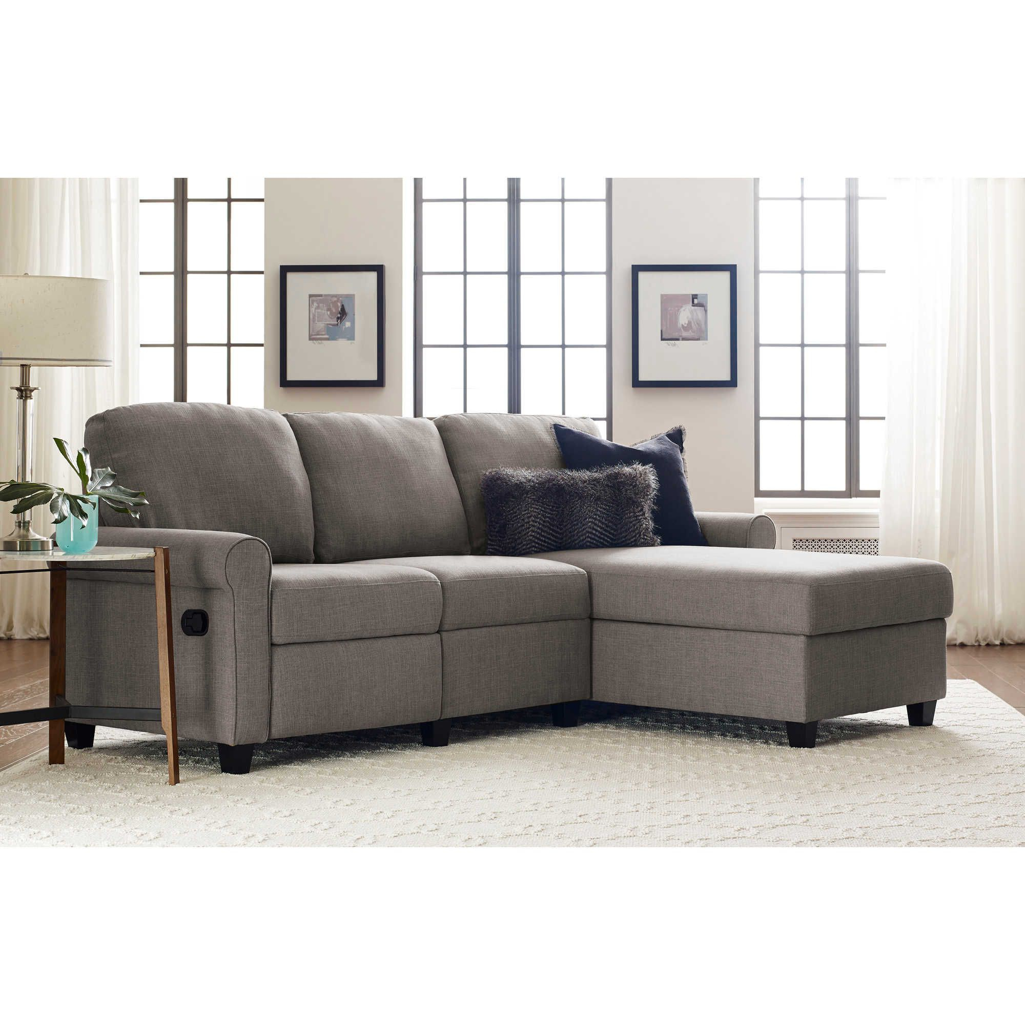 Most Recent Serta® Copenhagen Reclining Sectional Sofa With Storage Intended For Copenhagen Reclining Sectional Sofas With Right Storage Chaise (View 1 of 20)