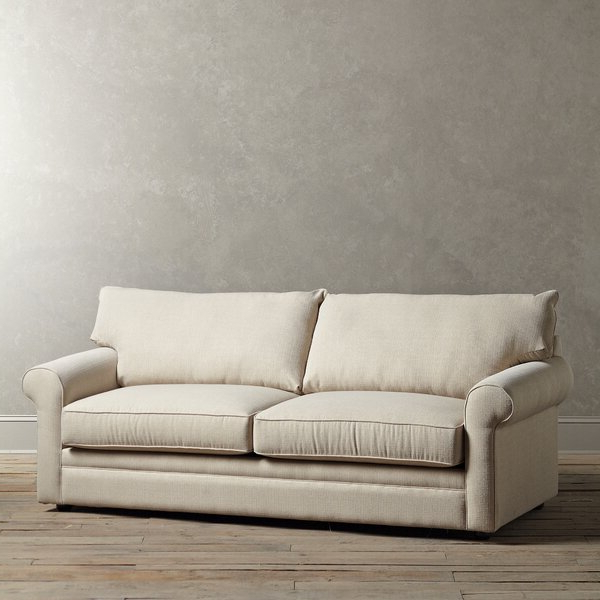Most Recently Released Camila Poly Blend Sectional Sofas Off White Intended For Birch Lane Newton Sofa (View 8 of 20)