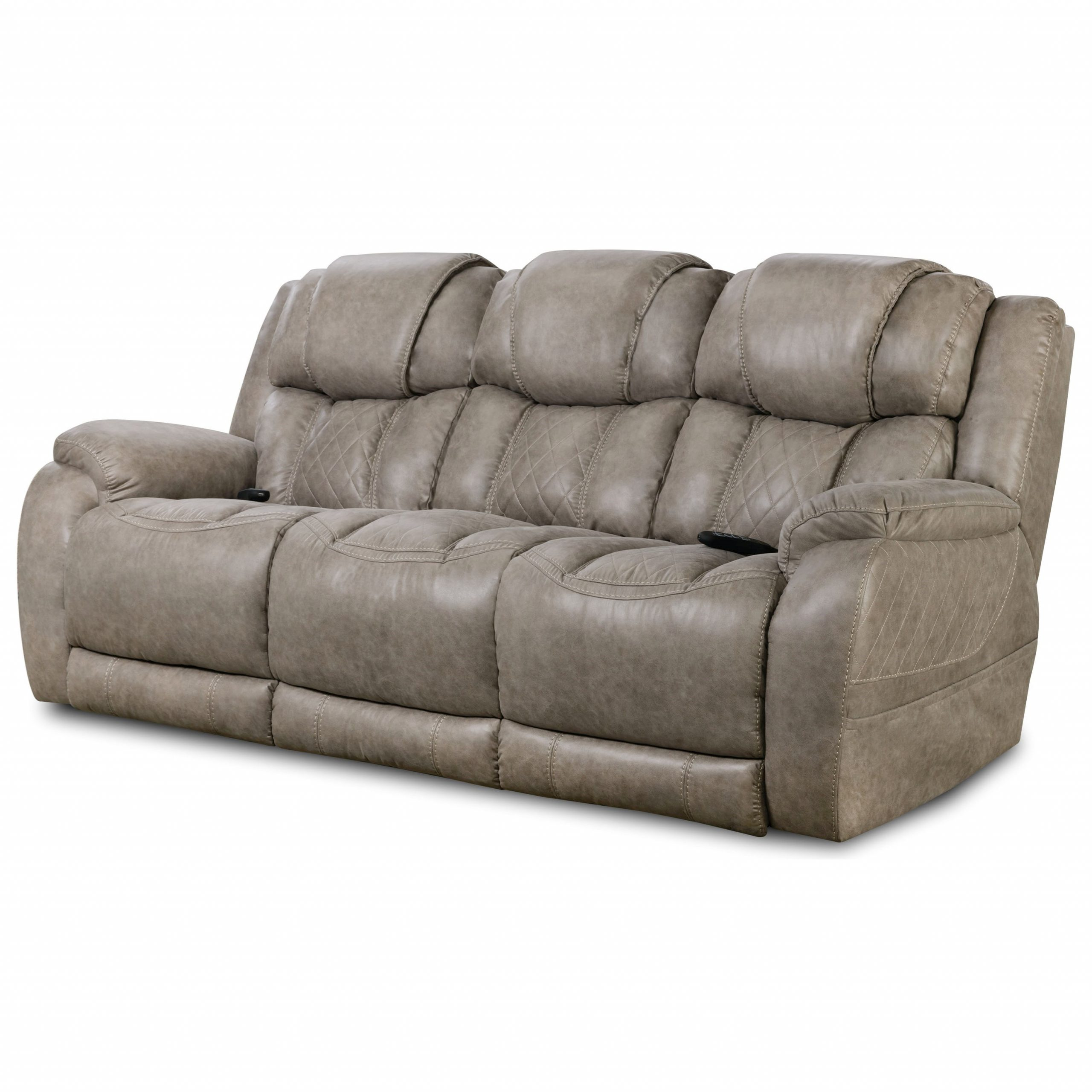 Most Recently Released Homestretch 174 Casual Style Double Reclining Power Sofa Intended For Raven Power Reclining Sofas (View 9 of 20)