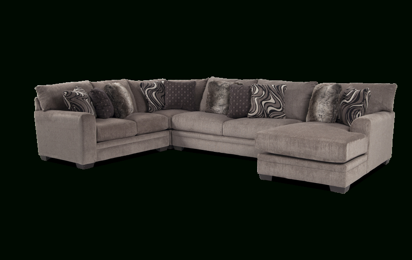 Most Recently Released Kiefer Right Facing Sectional Sofas For Luxe 4 Piece Right Arm Facing Sectional With Chaise (View 7 of 20)