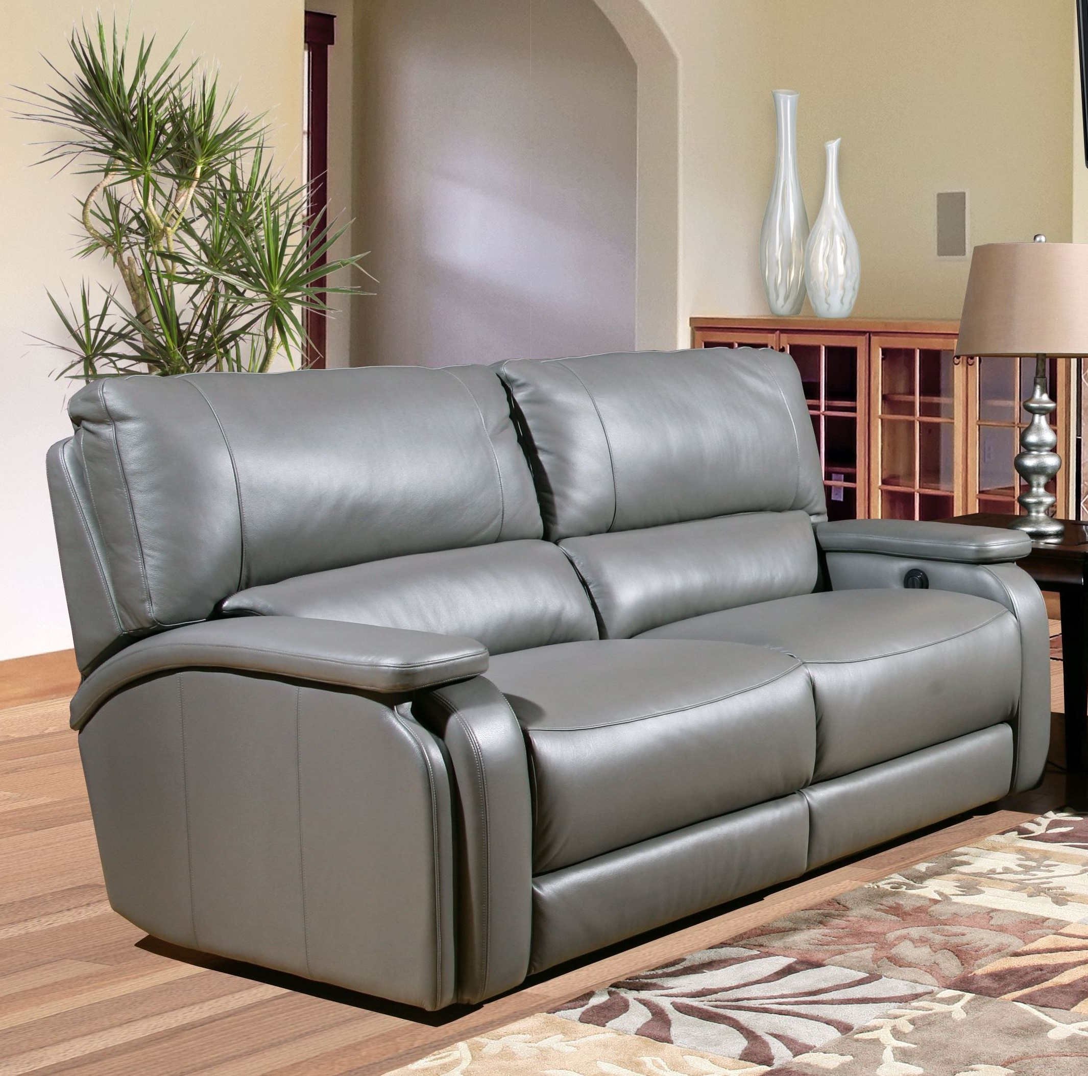 Most Recently Released Raven Power Reclining Sofas Inside Grisham Heron Dual Power Reclining Sofa From Parker Living (View 4 of 20)