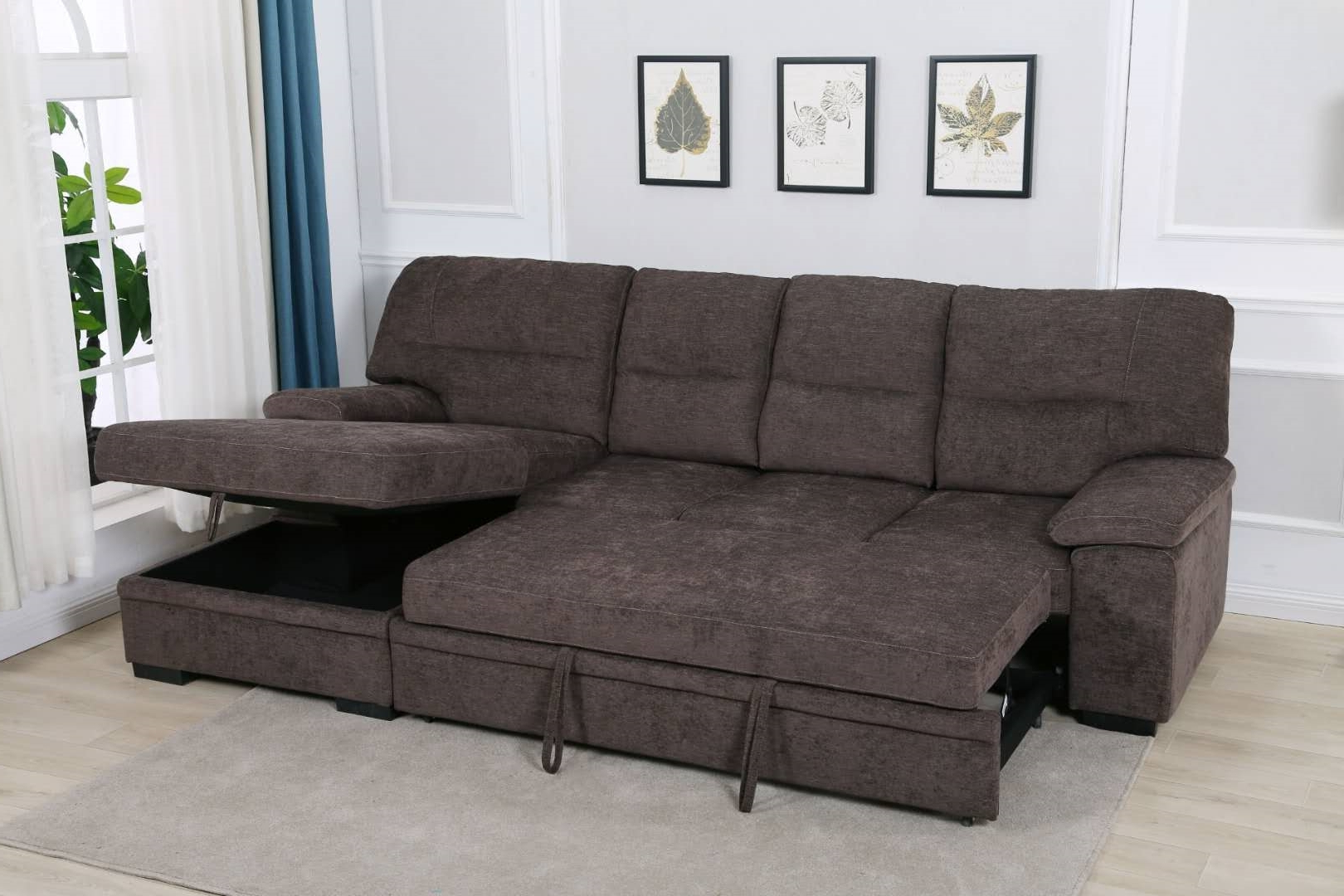 Most Recently Released Silvio Sectional Sofa/ Sofa Bed With Storage Ifurniture Pertaining To Live It Cozy Sectional Sofa Beds With Storage (View 5 of 20)