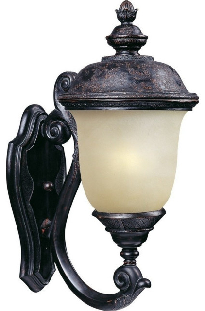 Most Up To Date 1 – Bulb Outdoor Wall Lanterns Pertaining To Carriage House Led 1 Light Outdoor Wall Lantern (View 12 of 20)