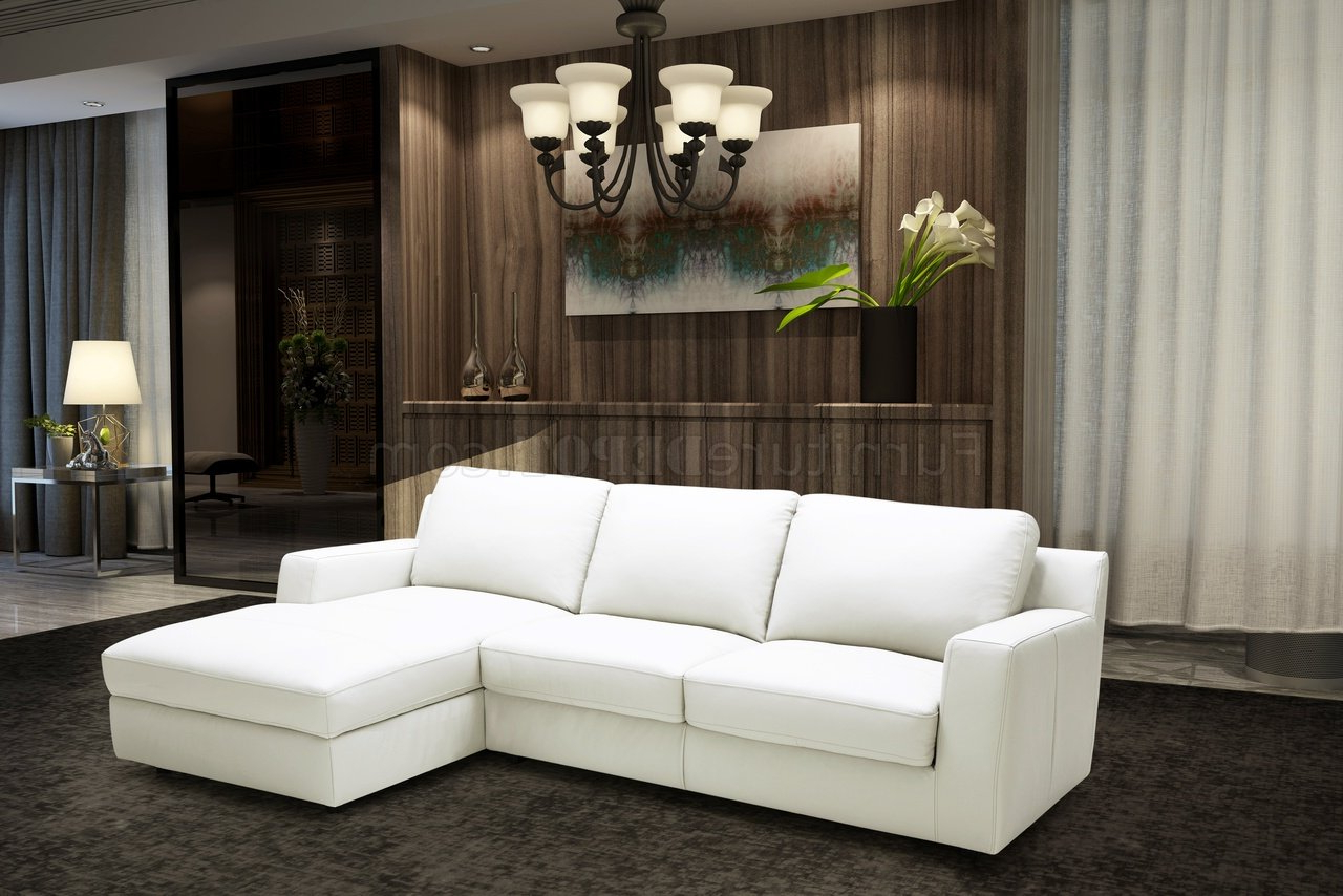 Most Up To Date Alexis Sectional Sofa Sleeper In Premium Leatherj&m For Hannah Left Sectional Sofas (View 9 of 20)