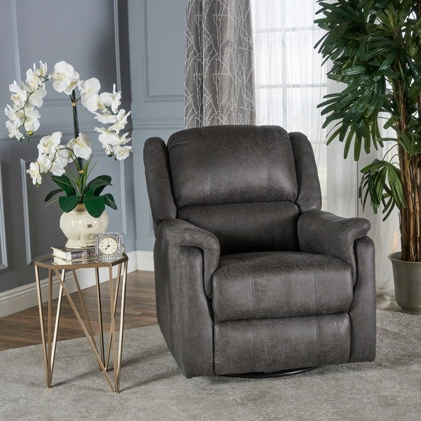 Most Up To Date Colby Manual Reclining Sofas Intended For Jennette Microfiber Swivel Gliding Reclinerchristopher (View 11 of 20)