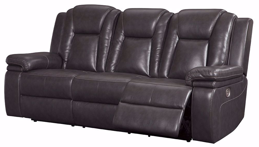 Most Up To Date Expedition Brown Power Reclining Sofas Throughout Garristown Gray Brown Power Reclining Sofa (View 10 of 20)