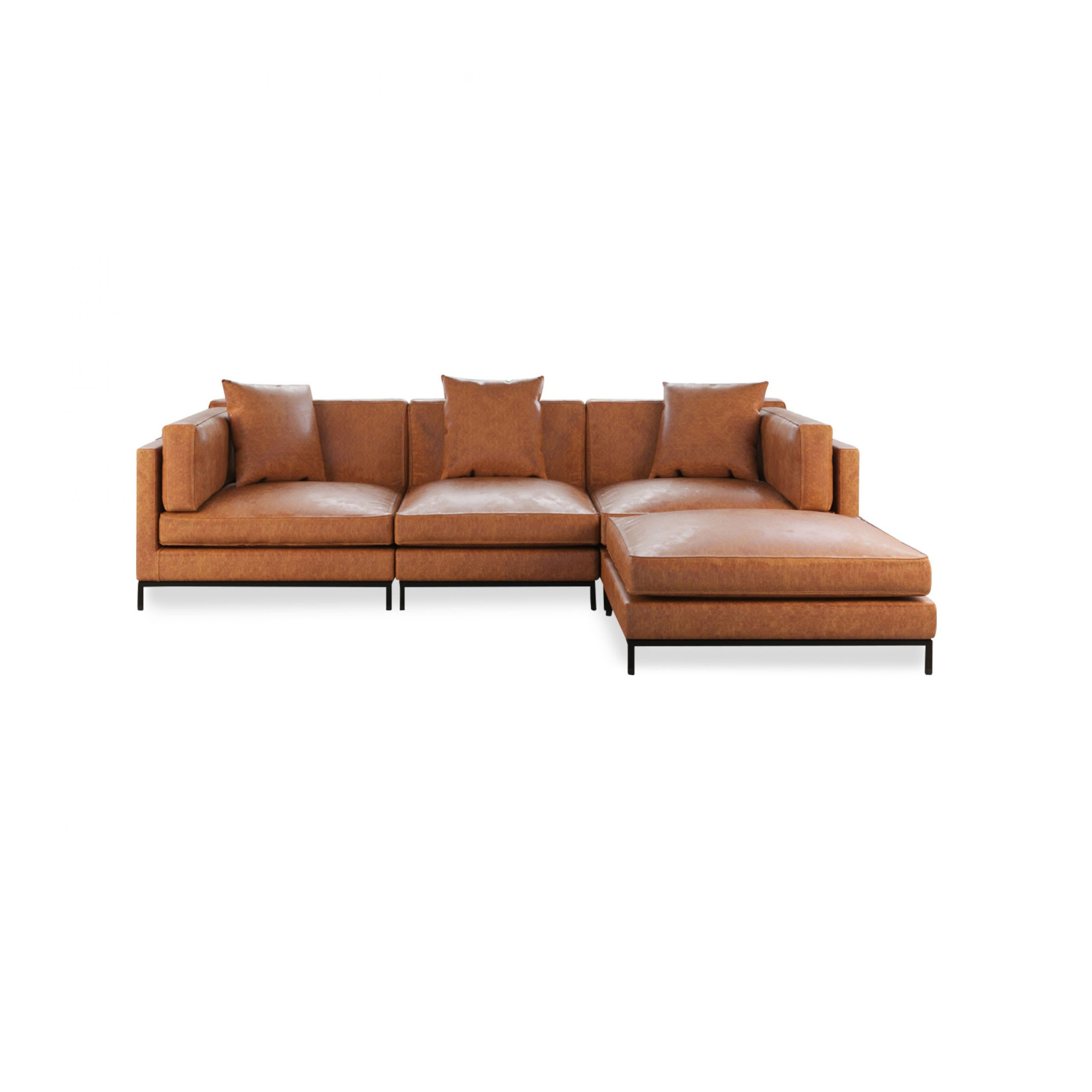 Most Up To Date Migliore Sectional – Best Leather Or Fabric Modular Sofa Pertaining To Paul Modular Sectional Sofas Blue (View 8 of 20)
