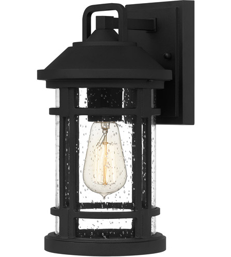 Most Up To Date Quoizel Quy8407ek Quincy 1 Light 13 Inch Earth Black Regarding Ainsworth Earth Black Outdoor Wall Lanterns (View 7 of 20)