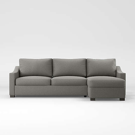 Newest 2pc Maddox Right Arm Facing Sectional Sofas With Cuddler Brown With Regard To Sectional Sofas & Couches – Living Room Sectionals (View 2 of 17)