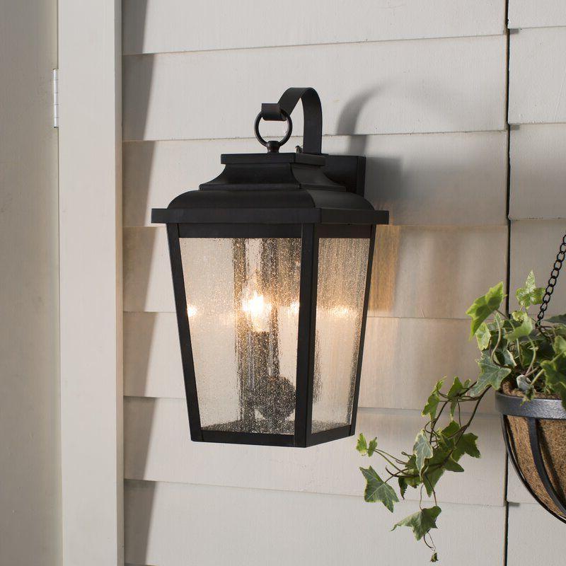 Newest Chelston Seeded Glass Outdoor Wall Lanterns Regarding Mayhugh Chelesa Bronze 3 – Bulb  (View 9 of 20)