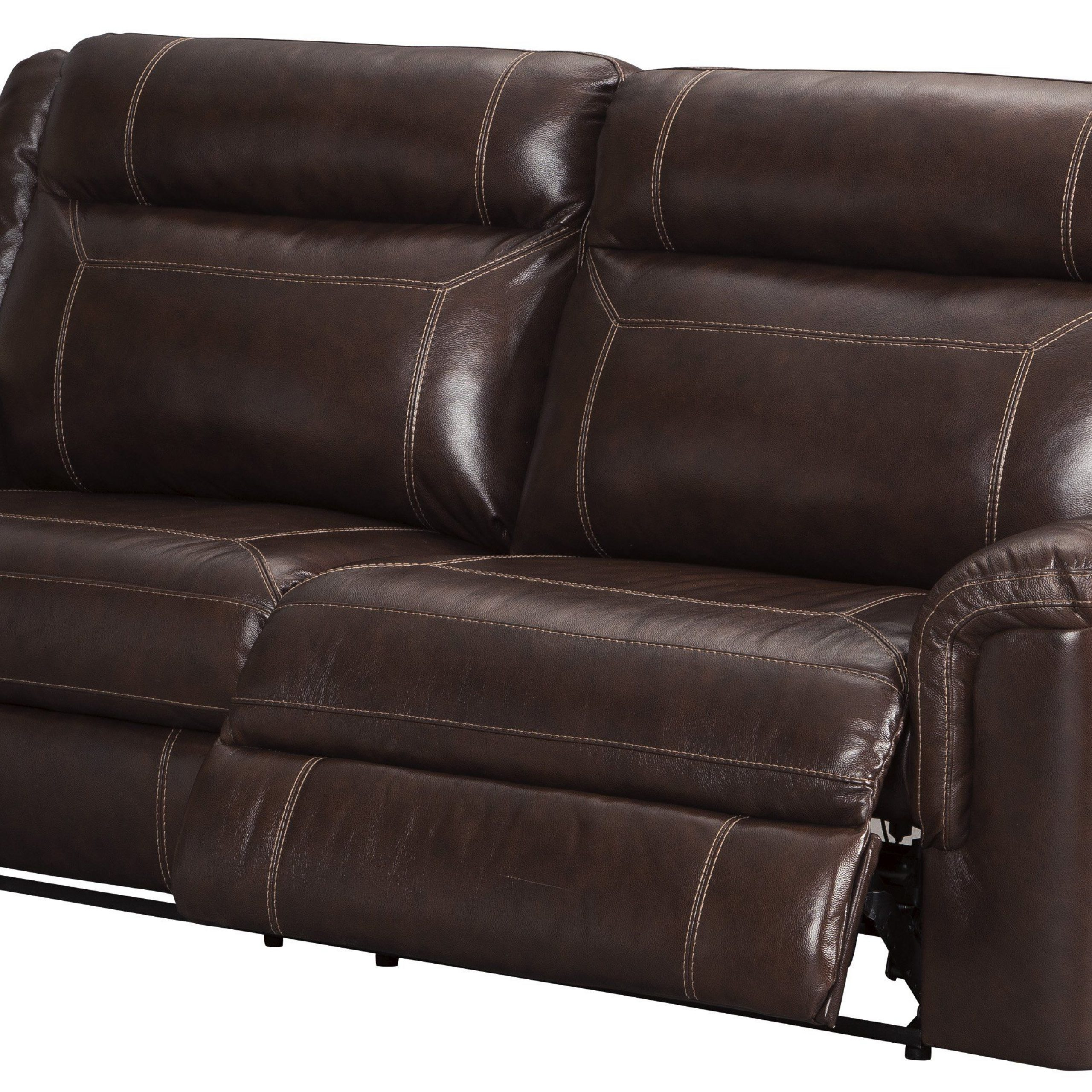 Newest Marco Leather Power Reclining Sofas With Genuine Leather Reclining Sofa And Loveseat (View 4 of 20)