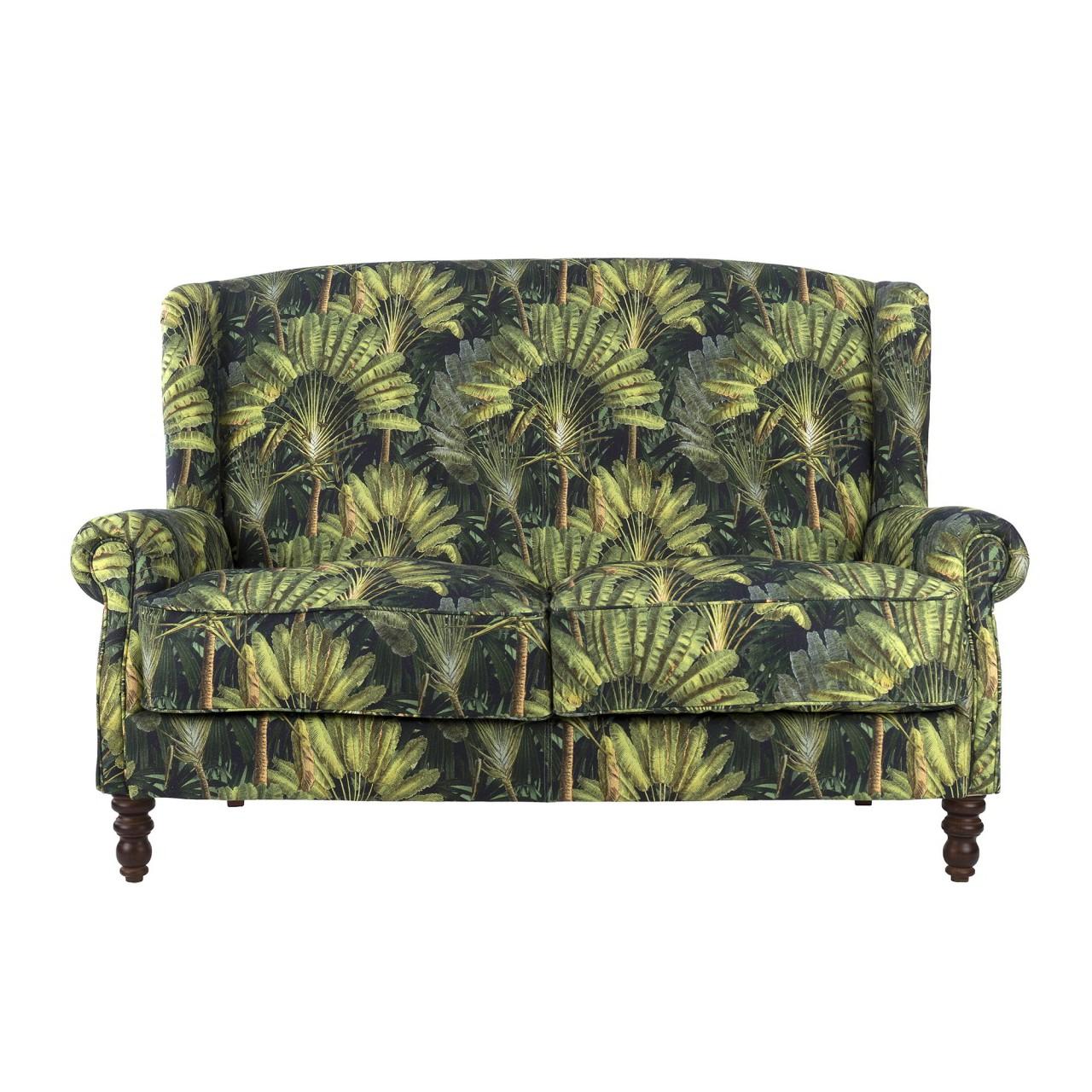 Newest Setoril Modern Sectional Sofa Swith Chaise Woven Linen Regarding Abigail Sofa – Traveller's Palm Linen – Sofas – Furniture (View 19 of 20)