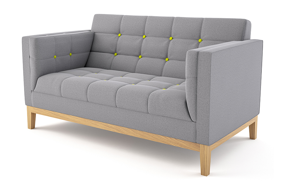 Newest Symmetry Fabric Power Reclining Sofas Inside Jig Sofa Two Seater — Cobus Spaces (View 2 of 20)