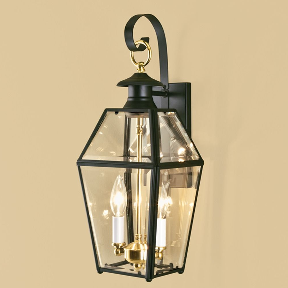 Norwell Lighting Olde Colony Verde Outdoor Wall Light Inside Newest Clarence Black Outdoor Wall Lanterns (View 12 of 20)