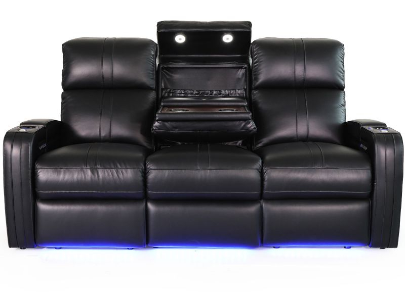 Octane Seating Flash Hr Power Reclining Sofa With Middle Throughout Most Up To Date Raven Power Reclining Sofas (View 14 of 20)