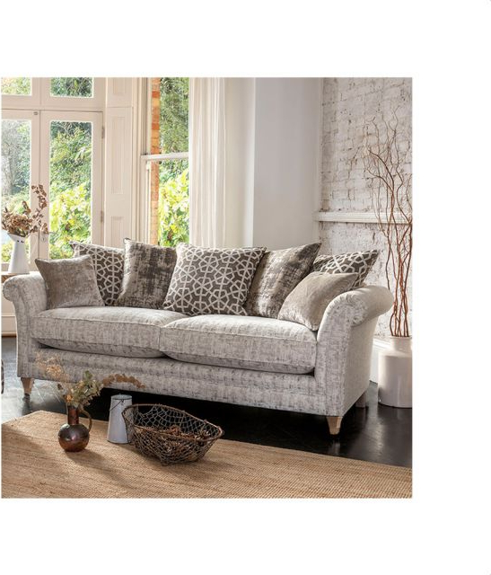 Oldrids & Downtown Throughout Newest Lyvia Pillowback Sofa Sectional Sofas (View 7 of 20)