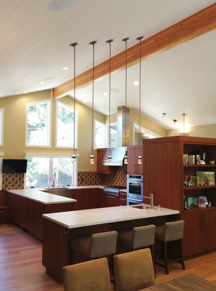 Orinda Sofas Intended For Most Up To Date Orinda Ranch House Remodeling – Contemporary – Kitchen (View 9 of 20)