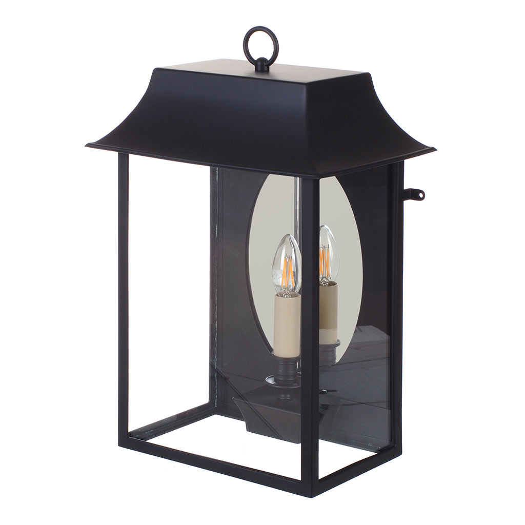 Outdoor For Armanno Matte Black Wall Lanterns (View 10 of 20)