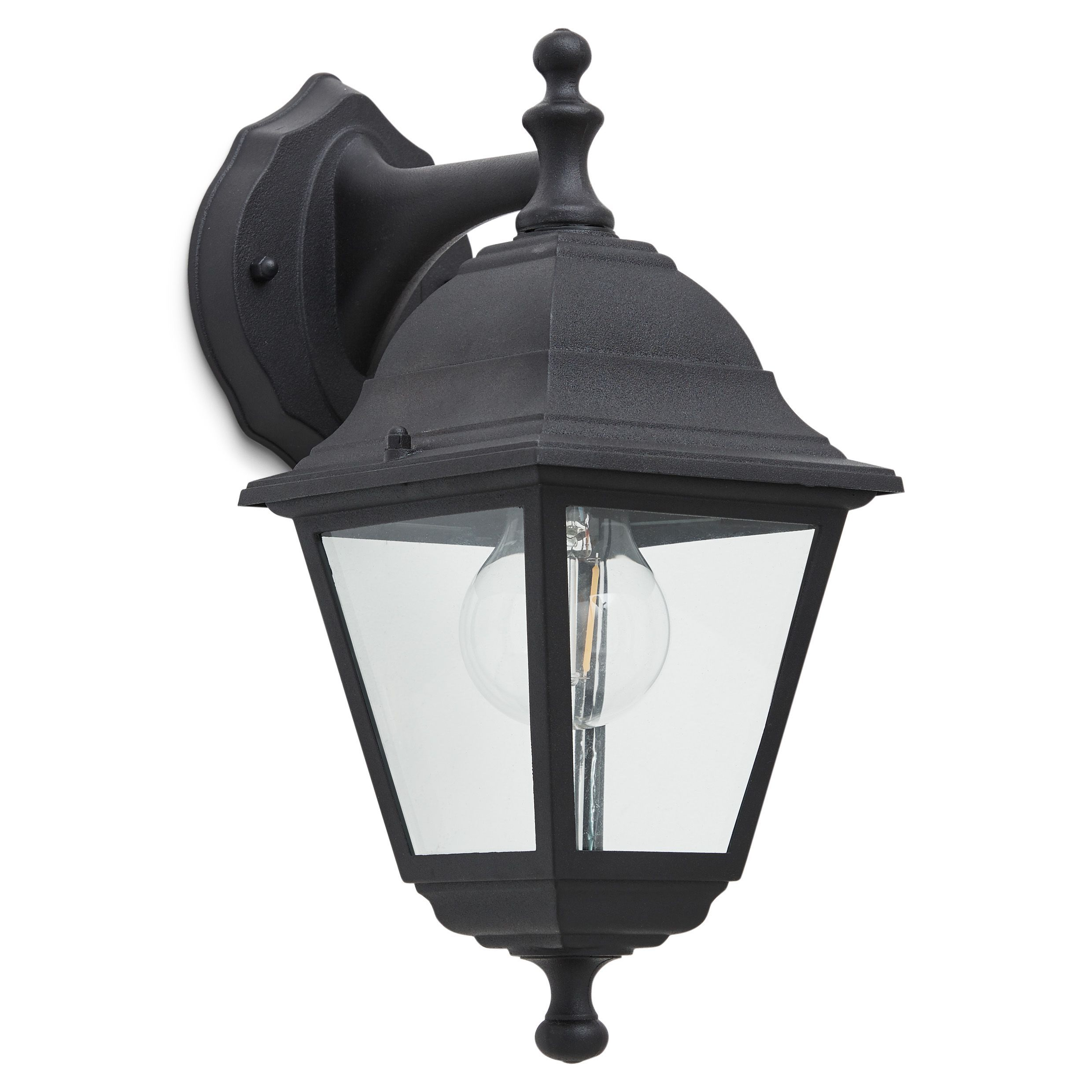 Outdoor Garden Lights B Q Pertaining To Most Up To Date Cano Wall Lanterns (View 3 of 20)