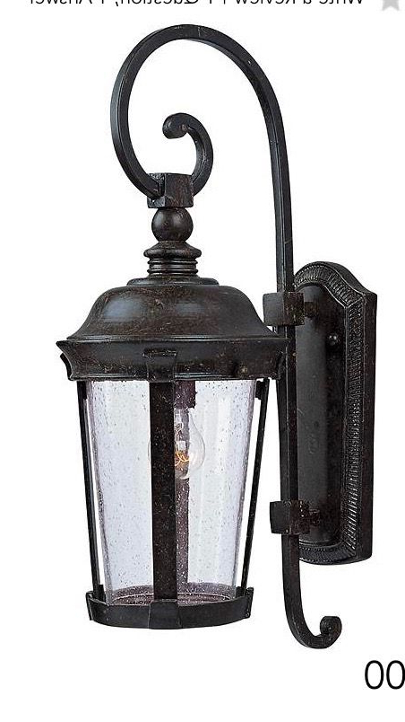 Outdoor Wall Lantern In Fashionable Gillian 3 – Bulb Beveled Glass Outdoor Wall Lanterns (View 16 of 20)