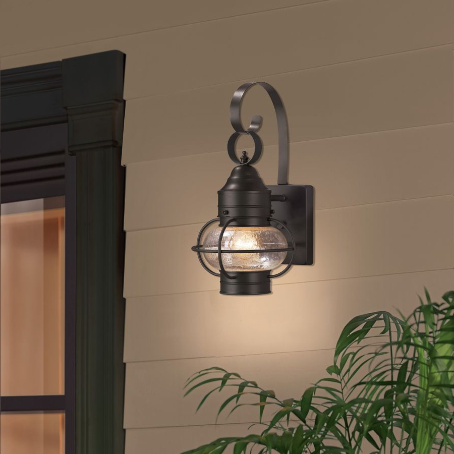 Outdoor Wall Lighting, Black Outdoor Wall With Most Recently Released Keiki Matte Black Outdoor Wall Lanterns (View 10 of 20)