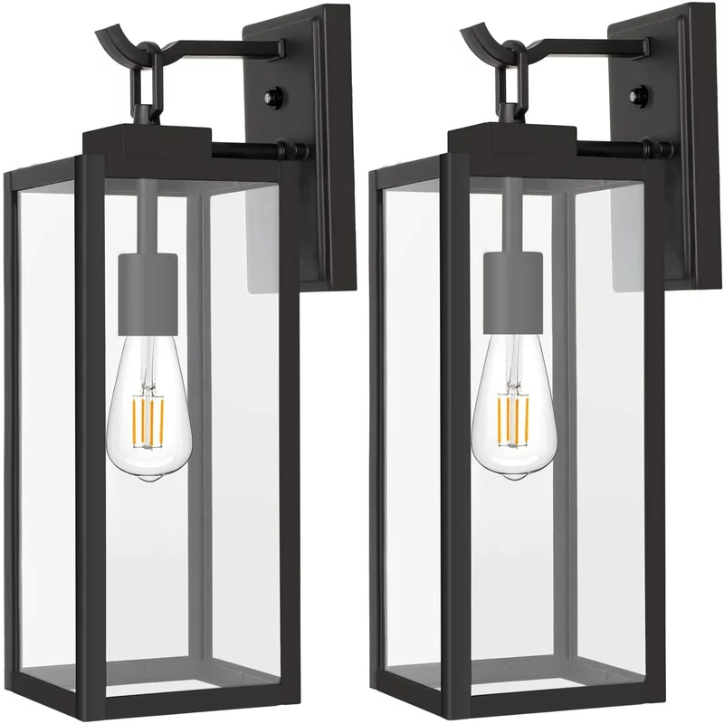 Outdoor Wall Lighting Dusk To Dawn White – Outdoor With Most Popular Edenfield Water Glass Outdoor Wall Lanterns With Dusk To Dawn (View 8 of 20)