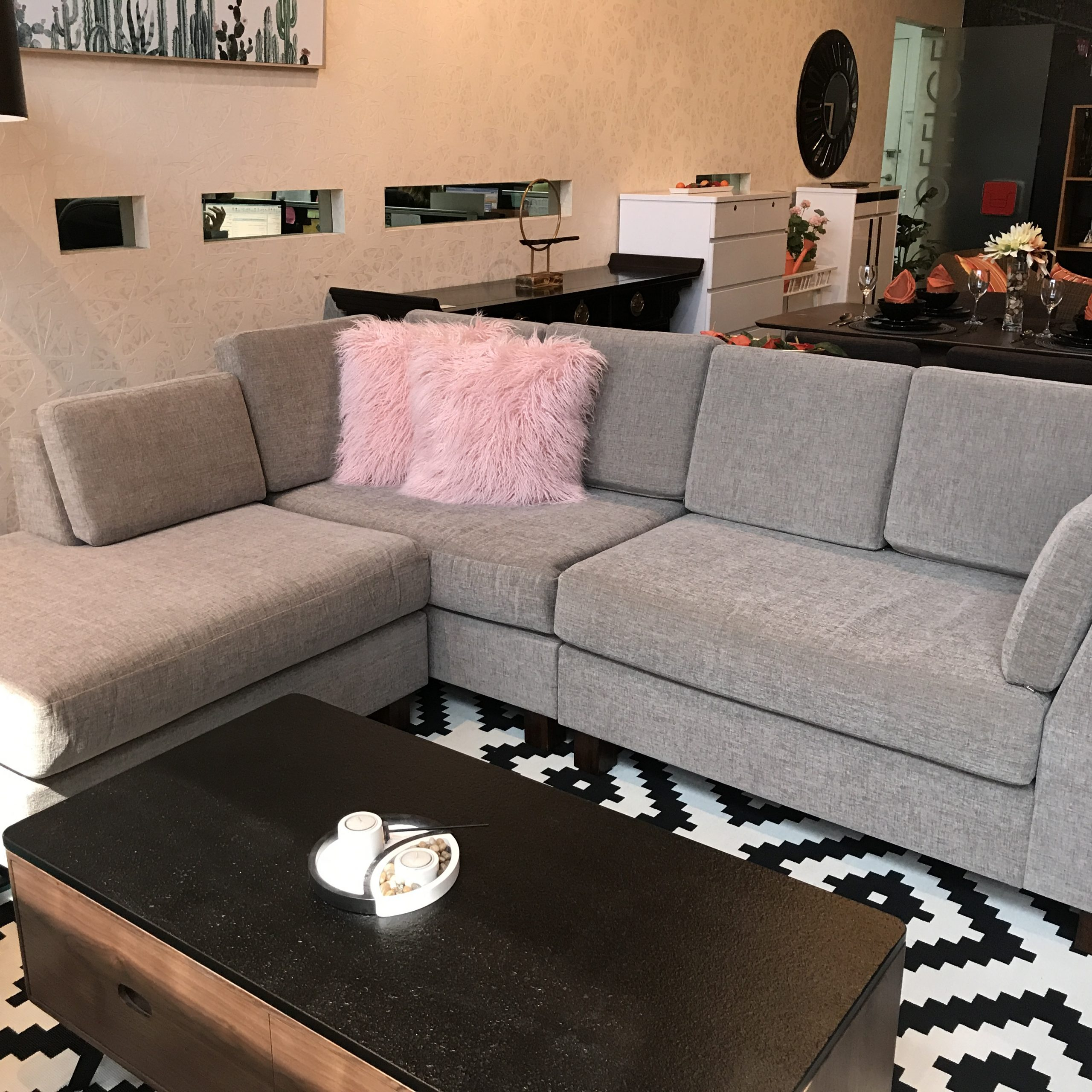 Owego L Shaped Sectional Sofas Throughout Trendy Product : 93 73 L Shaped Sofa (View 10 of 20)