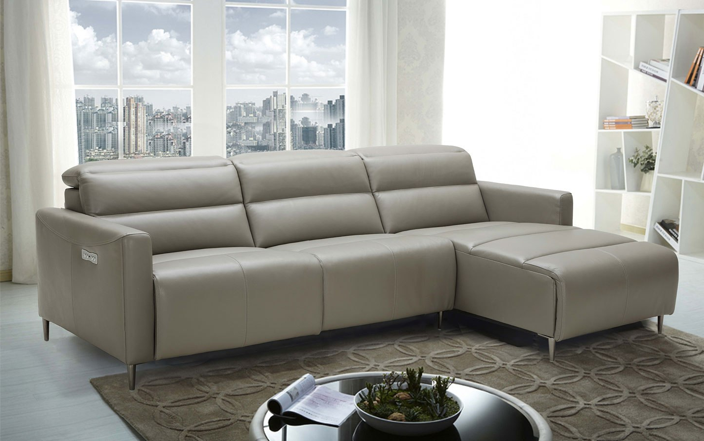 Palisades Reclining Sectional Sofas With Left Storage Chaise Regarding Famous Dylan Left Chaise Sectional Jm Furniture (View 11 of 20)