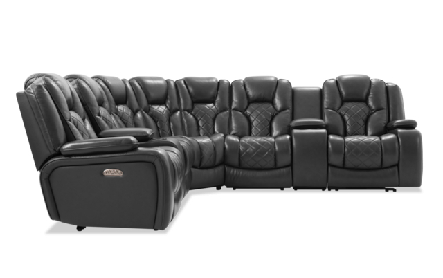 Panther Leather Power Reclining Sofa Console Loveseat Inside Most Up To Date Panther Fire Leather Dual Power Reclining Sofas (View 8 of 20)