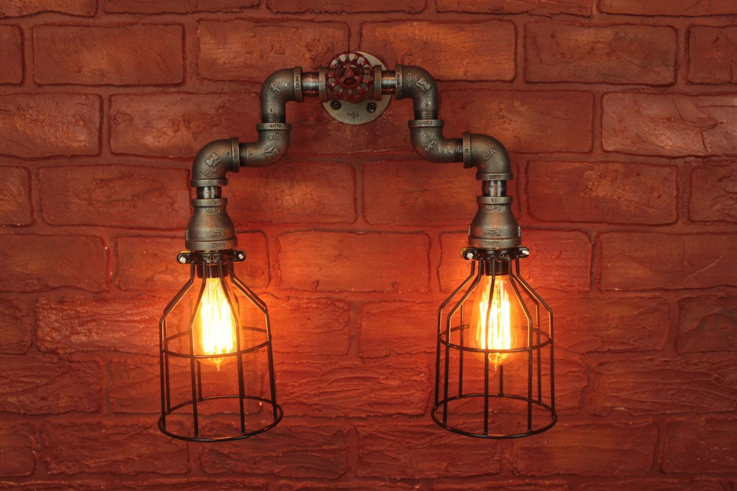 Pin On Farmhouse Bathroom Within Well Known Cano Wall Lanterns (View 1 of 20)
