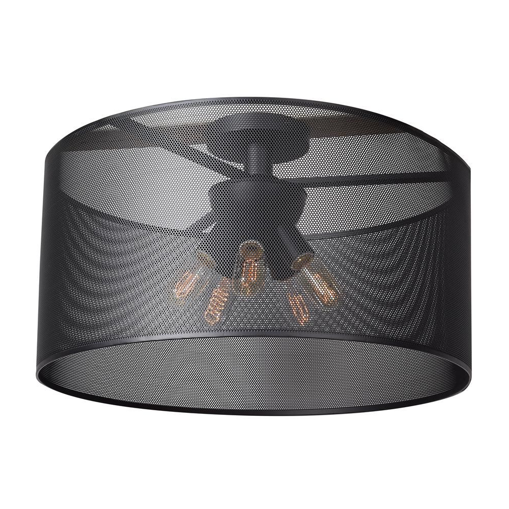 Pin On Lights Within Most Recent Whisnant Black Integrated Led Frosted Glass Outdoor Flush Mount (View 20 of 20)
