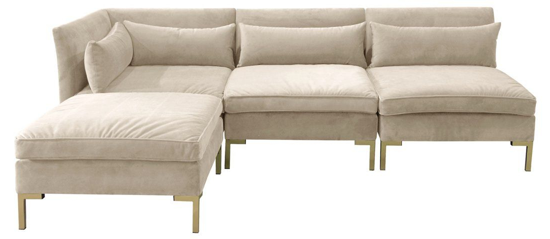 Pin On Small Living Rooms Throughout Widely Used 4pc Alexis Sectional Sofas With Silver Metal Y Legs (View 8 of 20)