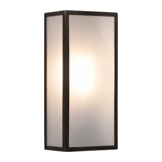 Popular Brierly Oil Rubbed Bronze/black Outdoor Wall Lanterns For Astro Lighting Messina Outdoor Wall Lantern In Bronze (View 19 of 20)