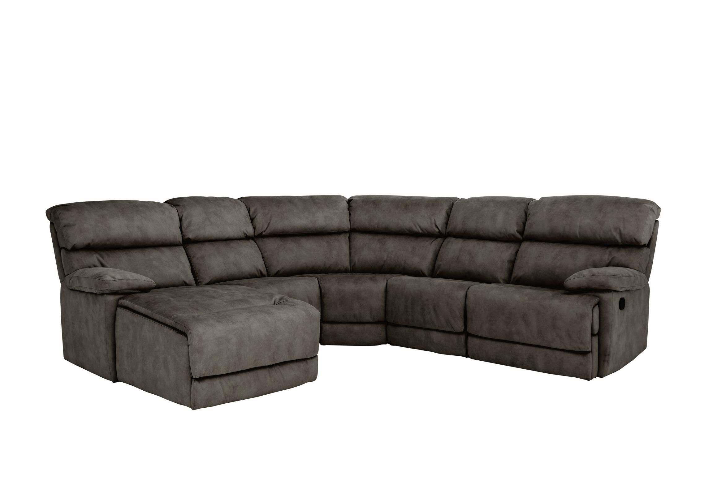 Popular Contempo Power Reclining Sofas In Beautifully Cushioned Fabric Corner Sofa Seats At Least  (View 10 of 20)