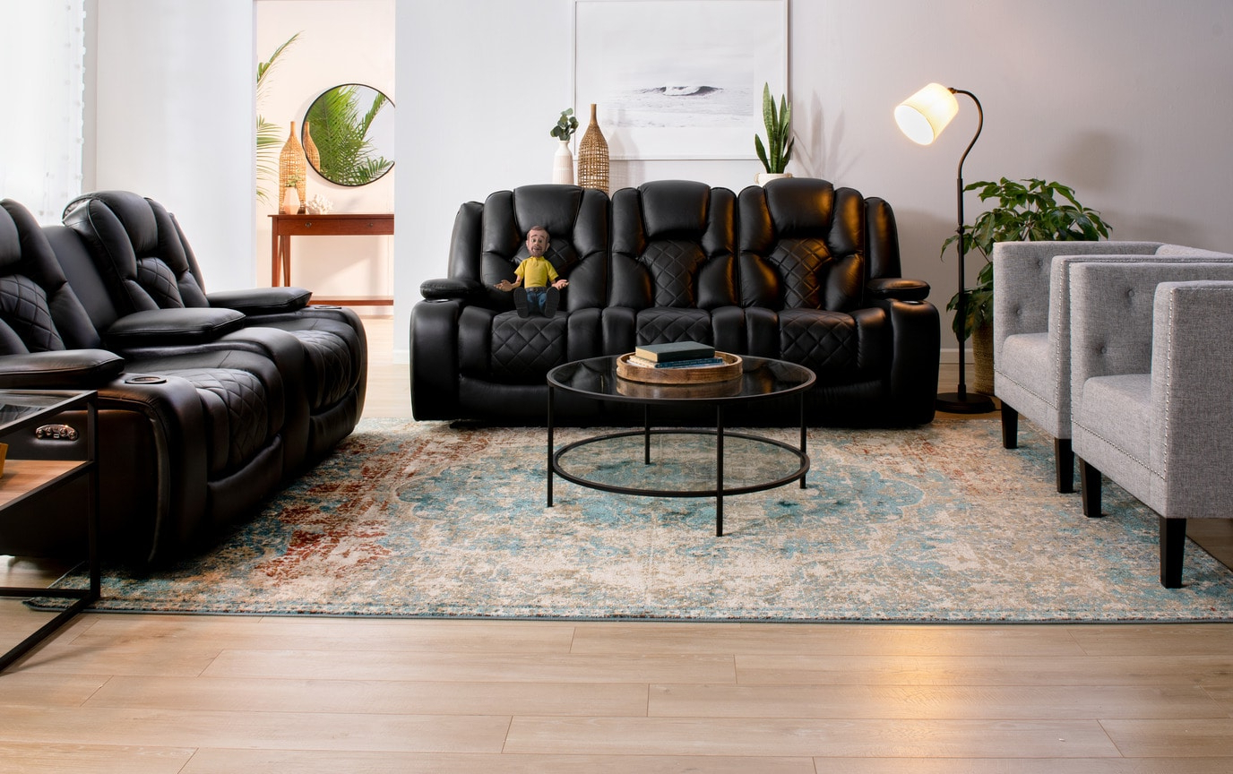 Popular Dual Power Reclining Sofas With Panther Leather Dual Power Reclining Sofa (View 19 of 20)