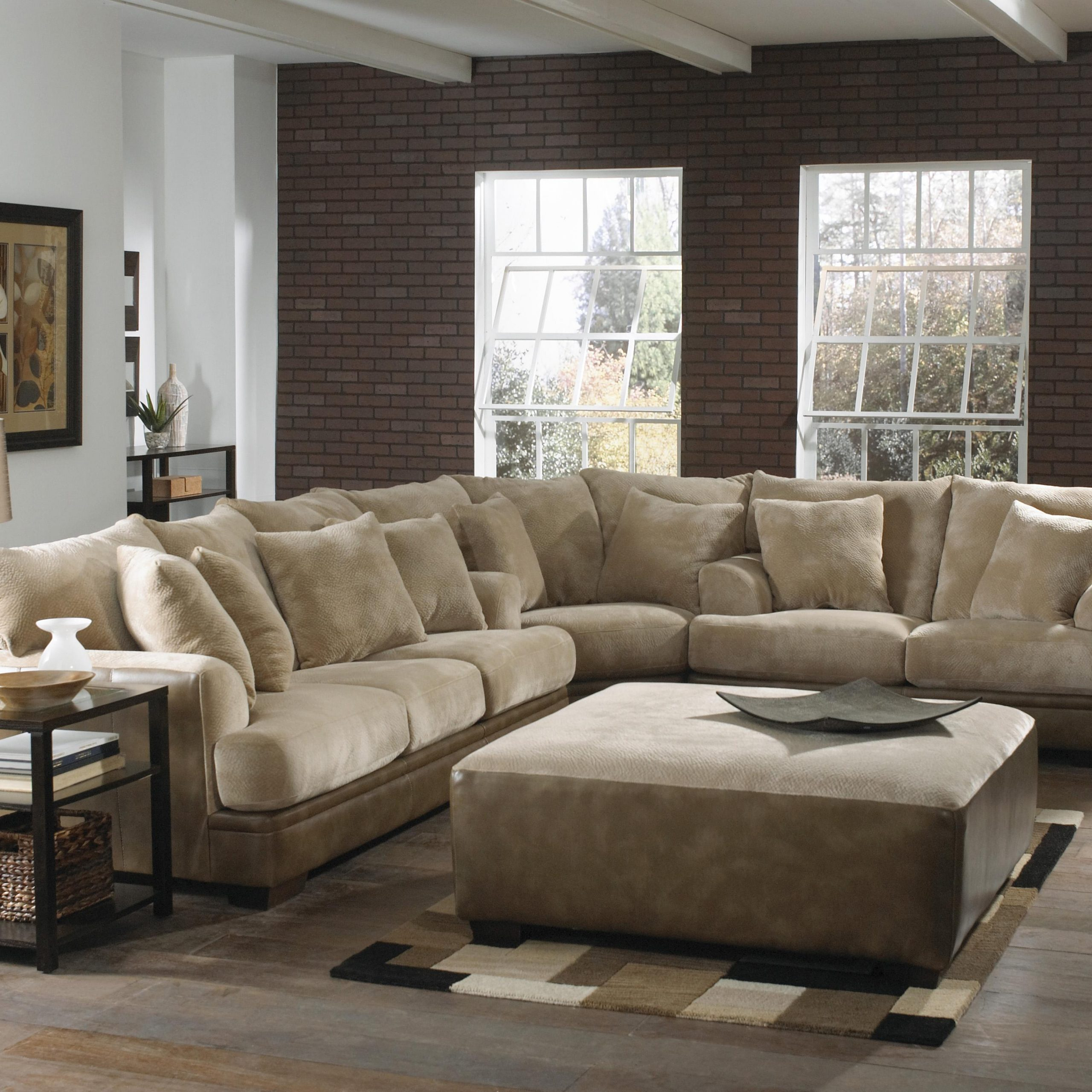 Popular Hannah Left Sectional Sofas For Large L Shaped Sectional Sofa With Left Side Loveseat (View 8 of 20)