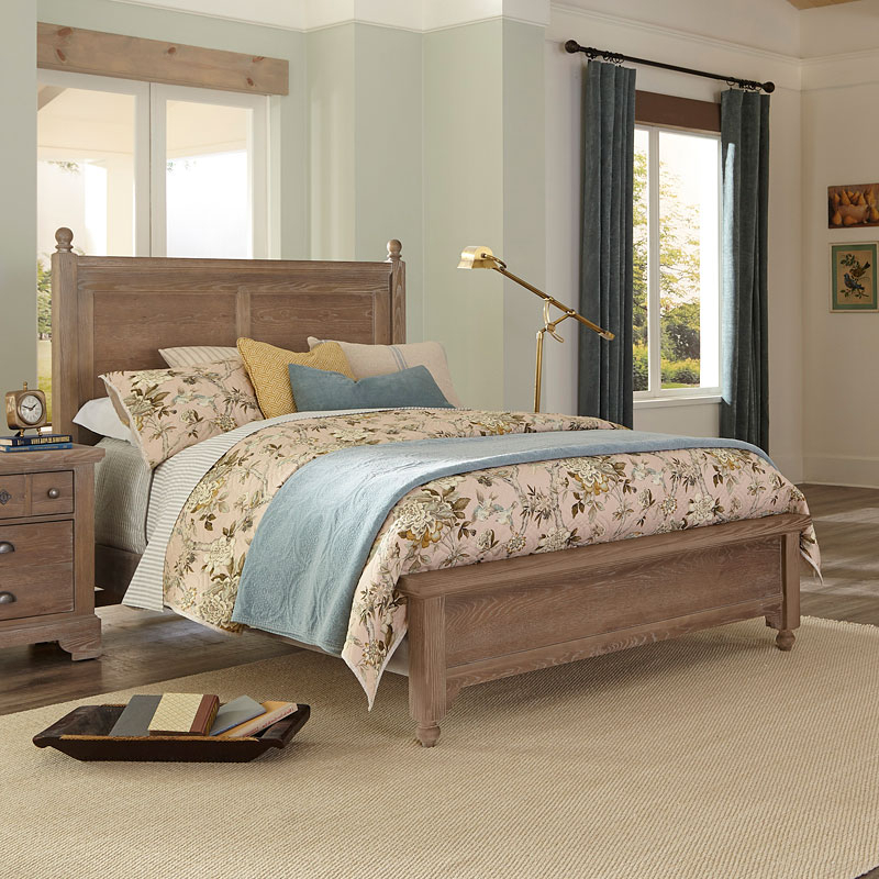 Popular Laurel Gilchrist Poster Bed (weathered Grey) Vaughan For Laurel Gray Sofas (View 14 of 20)