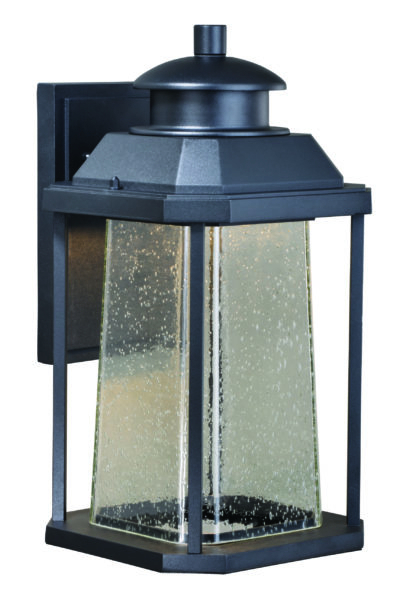 Popular Needham Dark Bronze 17'' H Seeded Glass Outdoor Flush Mount Intended For Southport  (View 12 of 19)