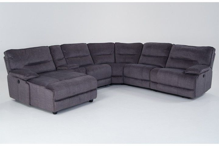Popular Pacifica Gray Power Reclining Sofas With Pacifica 6 Piece Power Reclining Left Arm Facing Sectional (View 4 of 20)