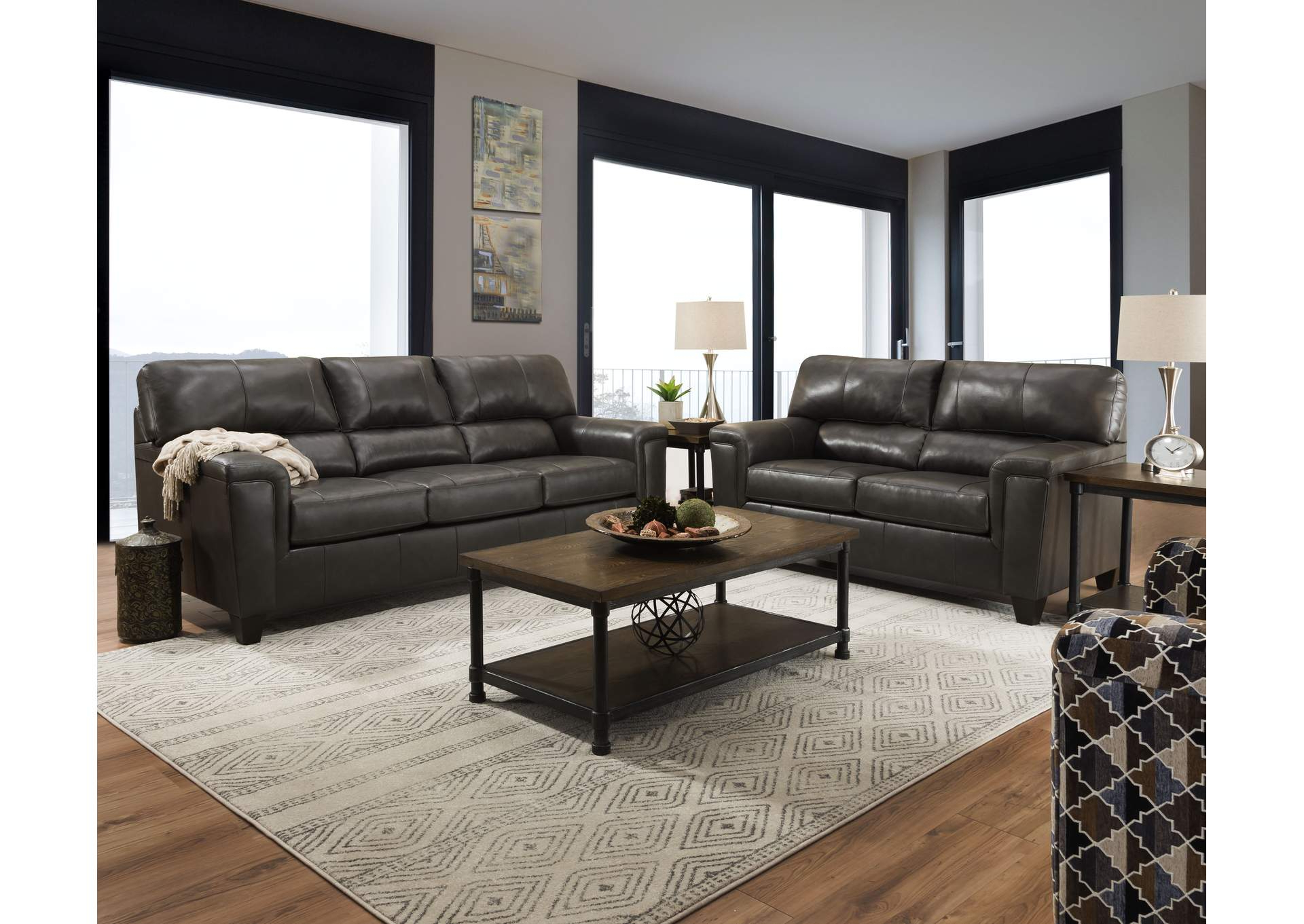 Popular Walker Gray Power Reclining Sofas Regarding 2038 Montego Two Piece Sectional With Raf Bump Chaise (View 12 of 20)