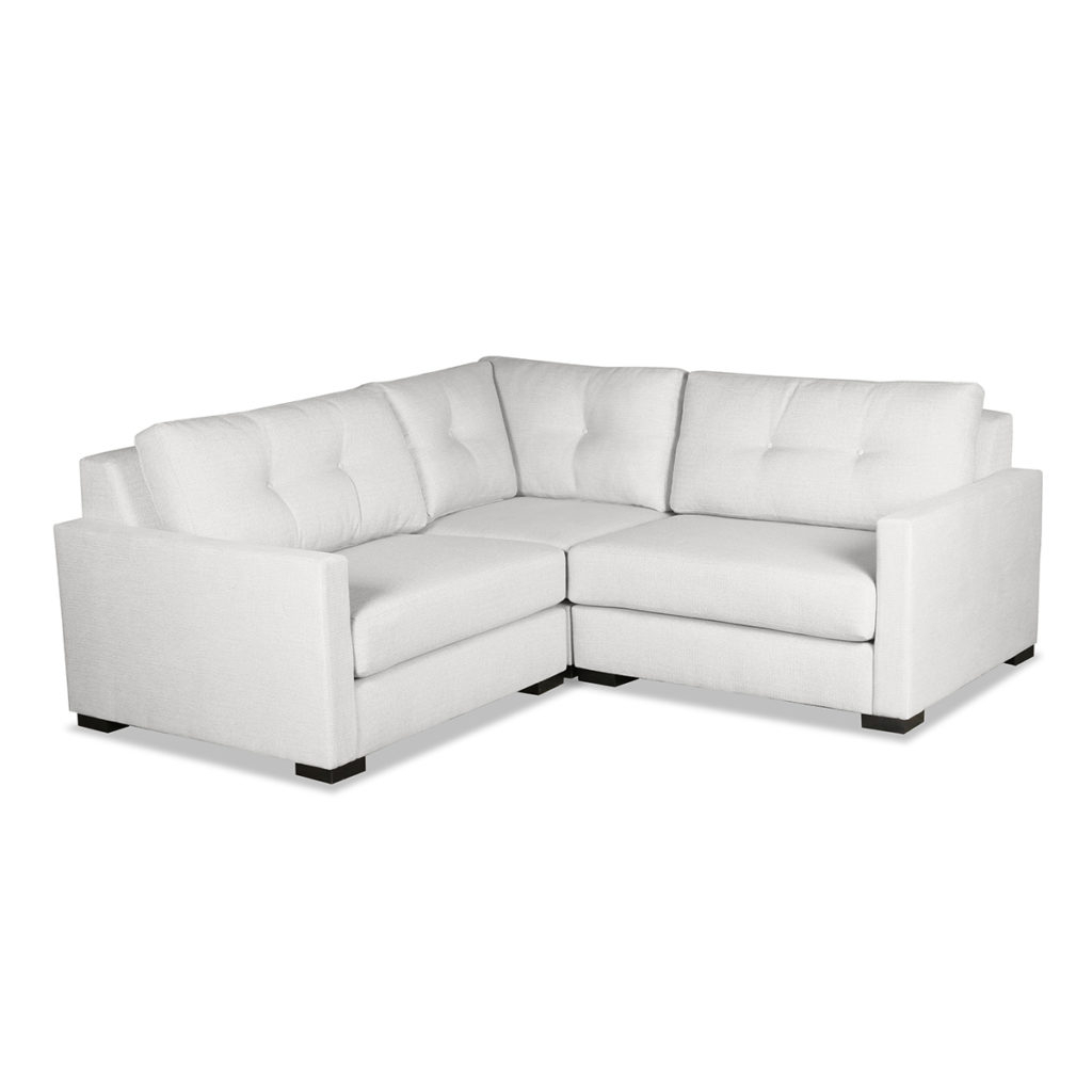 Popular Wilton Fabric Sectional Sofas Throughout Wilton Buttoned Modular Sectional Right And Left Arms L (View 8 of 20)