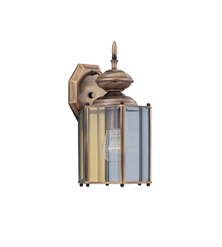Powell Beveled Glass Outdoor Wall Lanterns In Trendy Designers Fountain Beveled Glass Lanterns 1 Light Outdoor (View 18 of 20)