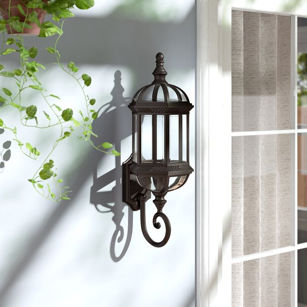 Featured Photo of Powell Beveled Glass Outdoor Wall Lanterns