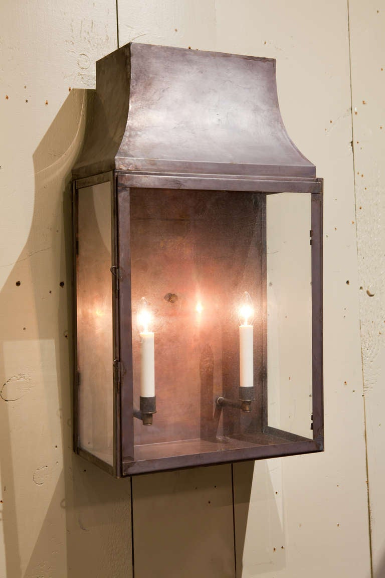 Powell Outdoor Wall Lanterns With Regard To 2019 Custom Indoor/ Outdoor Wall Lantern At 1stdibs (View 20 of 20)