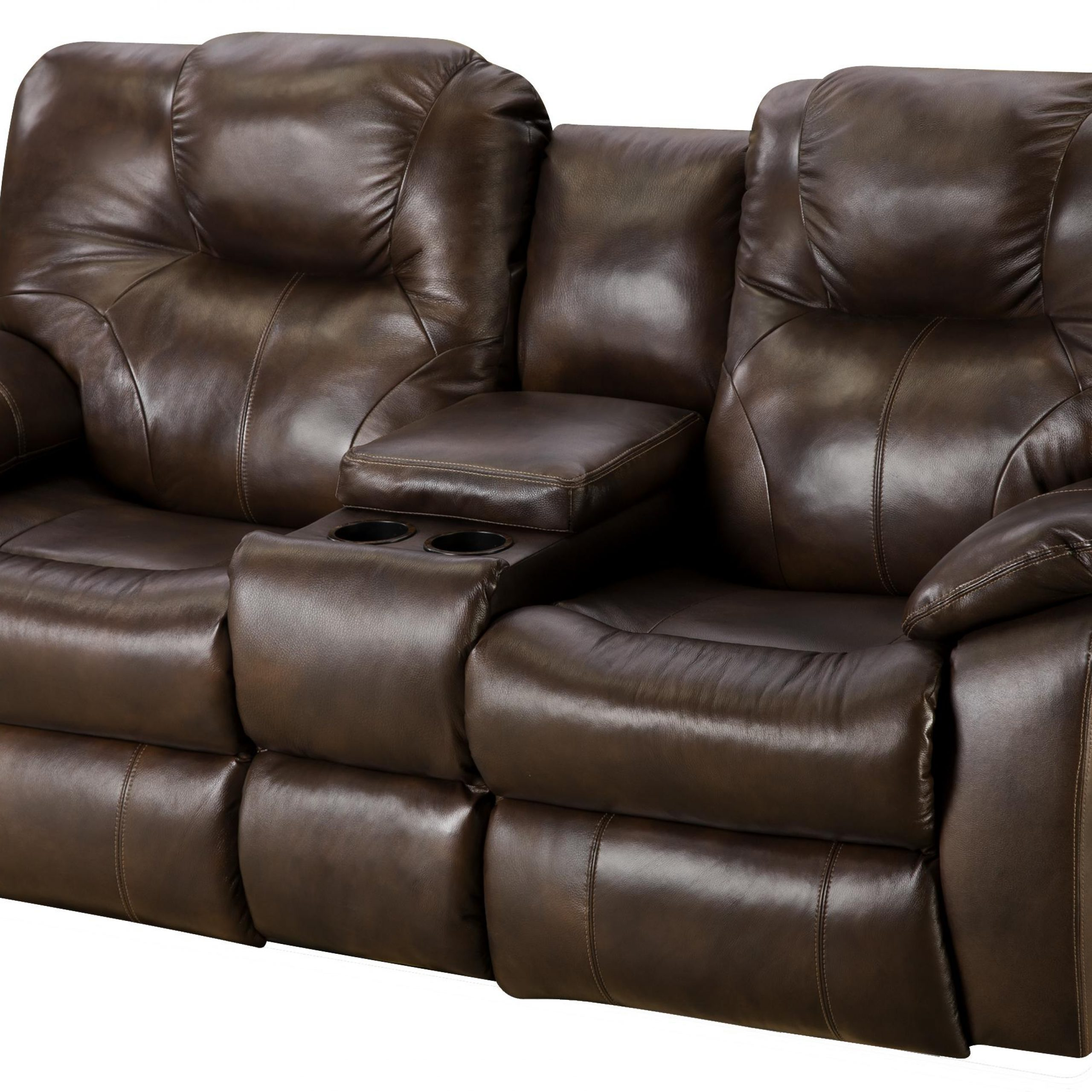 Power Reclining Sofa With Consolesouthern Motion Intended For Trendy Raven Power Reclining Sofas (View 16 of 20)