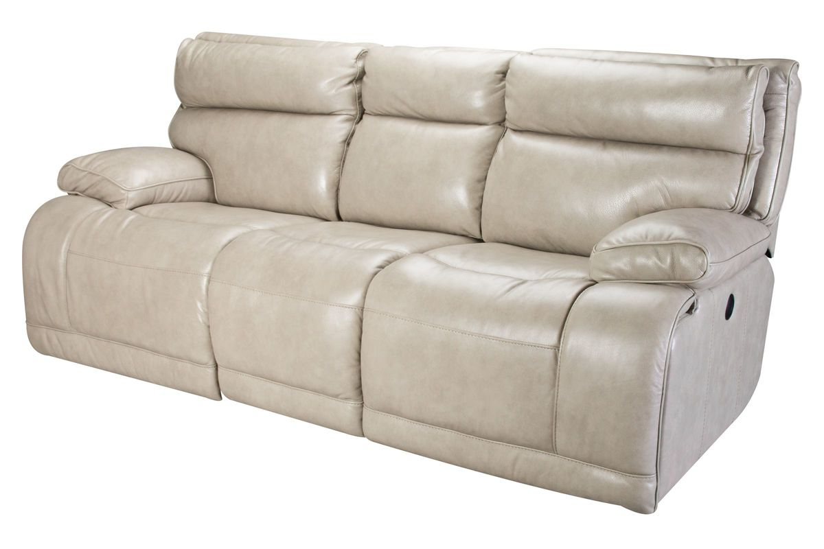 Power Reclining Sofas With Regard To Well Known Austin Leather Power Reclining Sofa At Gardner White (View 20 of 20)