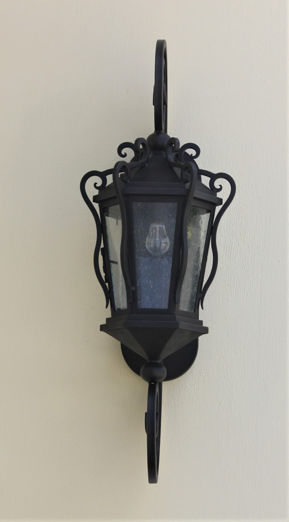 Preferred 1 – Bulb Outdoor Wall Lanterns Pertaining To Lights Of Tuscany 7212 1 Spanish Hacienda Outdoor Wall Lantern (View 13 of 20)