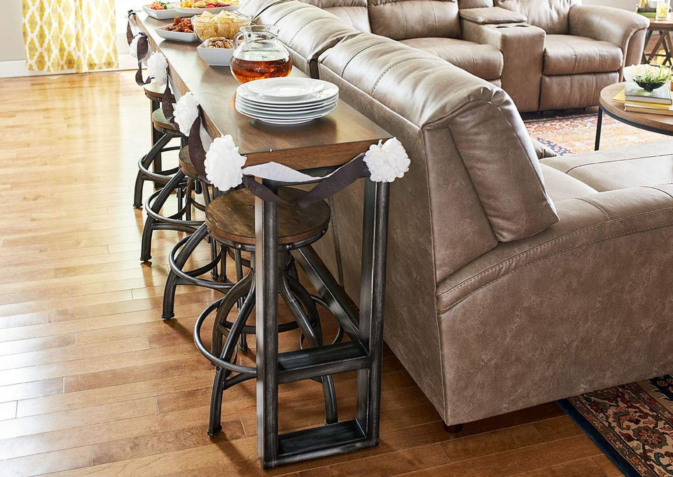 Preferred 7326 Charleston Sofa Bar Table For Charleston Sofas (View 12 of 20)